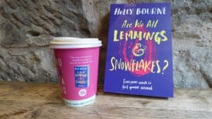 Usborne Publishing Holly Bourne Coffee Cup Advertising Tabletalk Media