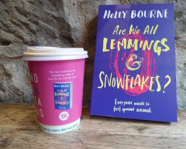 Usborne Publishing Holly Bourne Coffee Cup Advertising Tabletalk Media