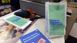 NHS England Pharmacy Bag Advertising