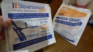 Stevenswood Butty Bag Advertising Tabletalk Media