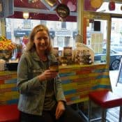 Simon & Schuster with Book Signing & Sampling in Coffee Shops