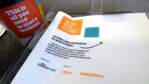 Guardian Labs eBay Doers Scheme Coffee Shop Advertising