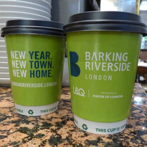 L&Q Coffee Cup & Water Cooler Cup Advertising