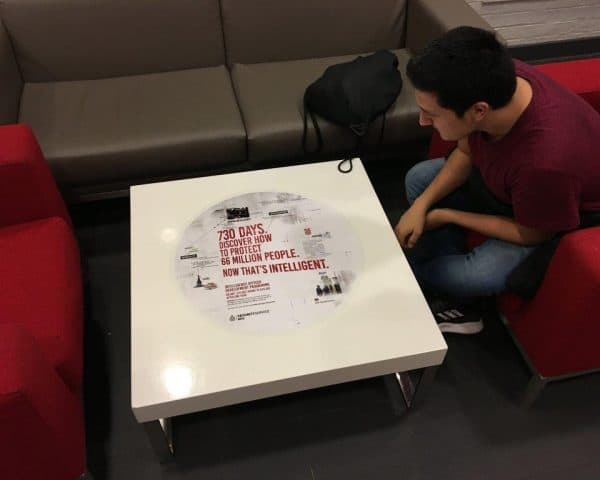 Security Service Mi5 Campaign University Tablewraps