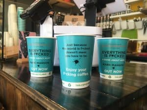 Harper Collins Mark Manson Coffee Cups