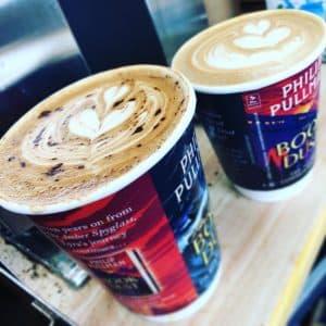 Penguin Coffee Cups Glastonbury Festival