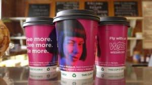Wizz Air Coffee Cups