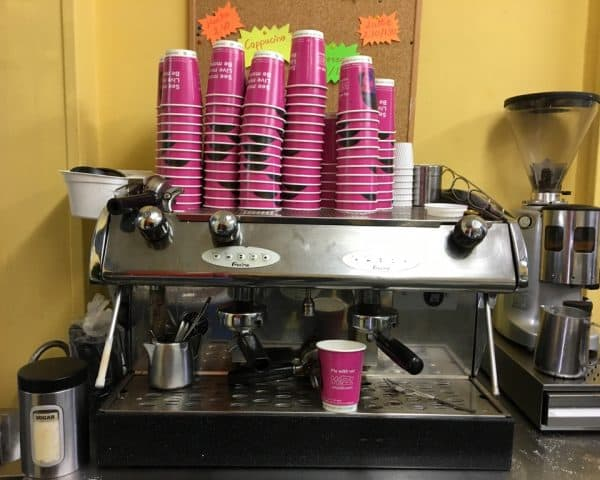 Wizz Air Coffee Cup Advertising Campaign