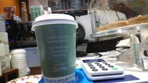 iZettle Coffee Cup Advertising