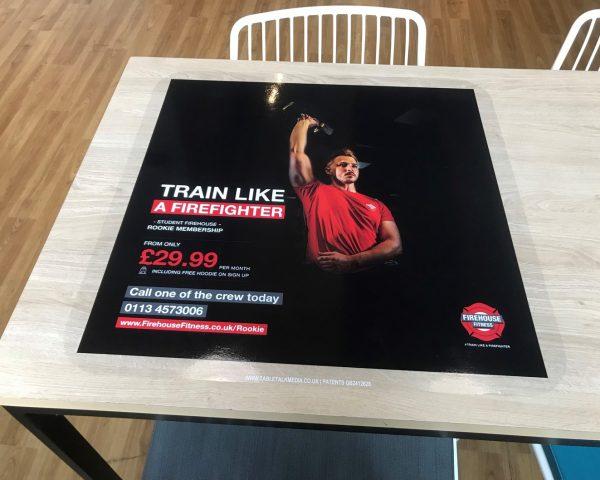 Firehouse Fitness Uni Tablewraps