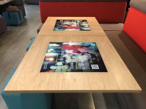 Deutsche Bank Tablewraps