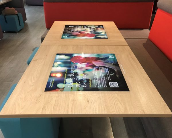 Deutsche Bank Tablewraps
