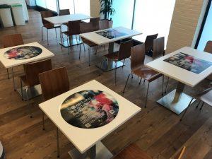 Deutsche Bank Tablewrap Advertising