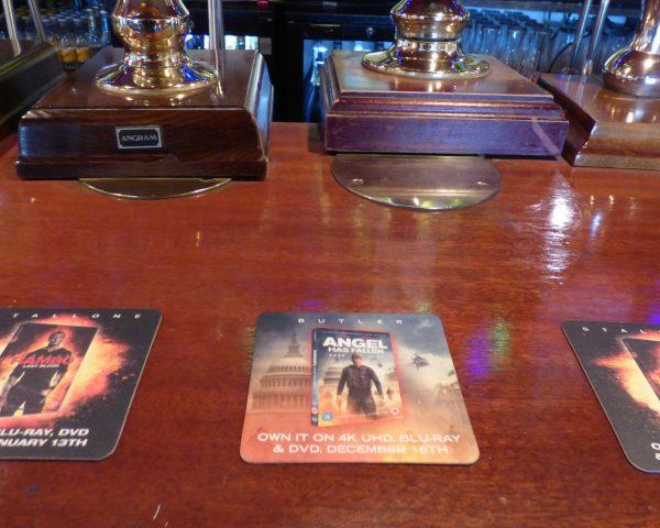 Lionsgate Rambo Beer Mat Advertising