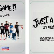 SPORTS DIRECT 'JUST A GAME?' PUB PROMOTION